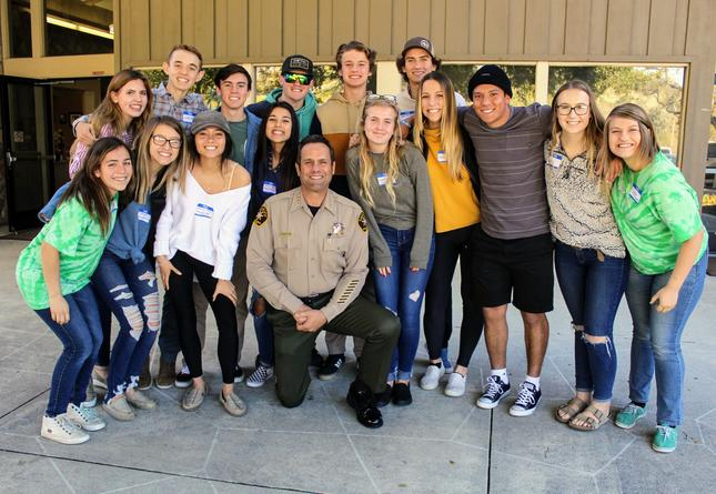 THS LINK LEADERS MEET WITH SHERIFF PARKINSON